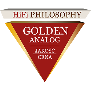 Philosophie HiFi Golden Analog Red