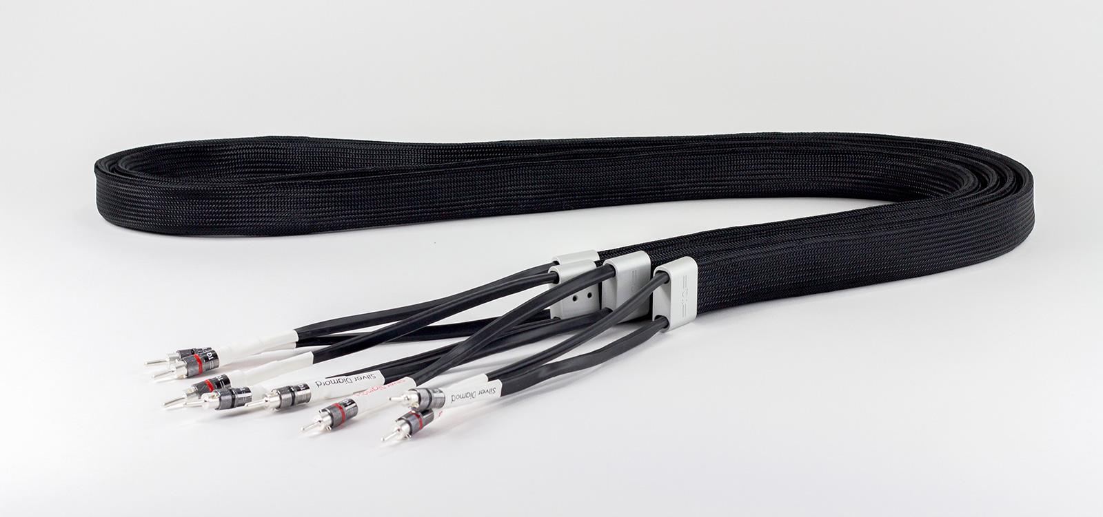 Silver Diamond Speaker Cable