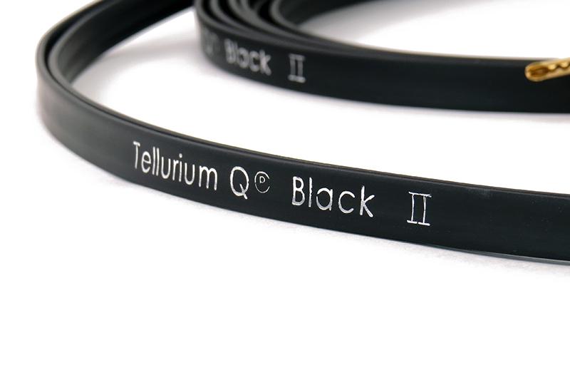 Black Speaker Cable