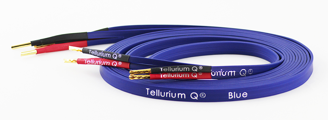 Blue Speaker Cable