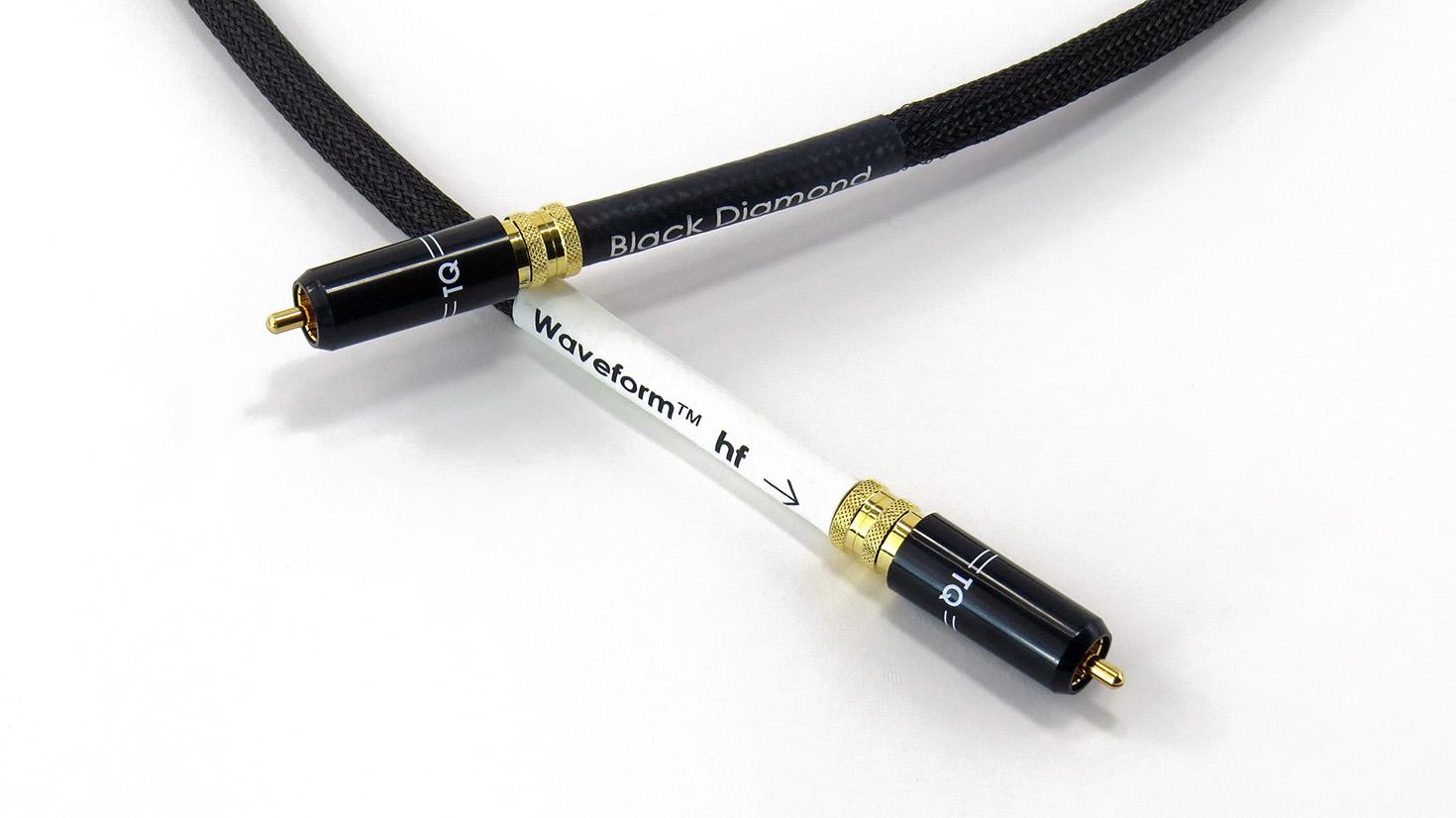Black Diamond Waveform ВЧ цифровой кабель RCA