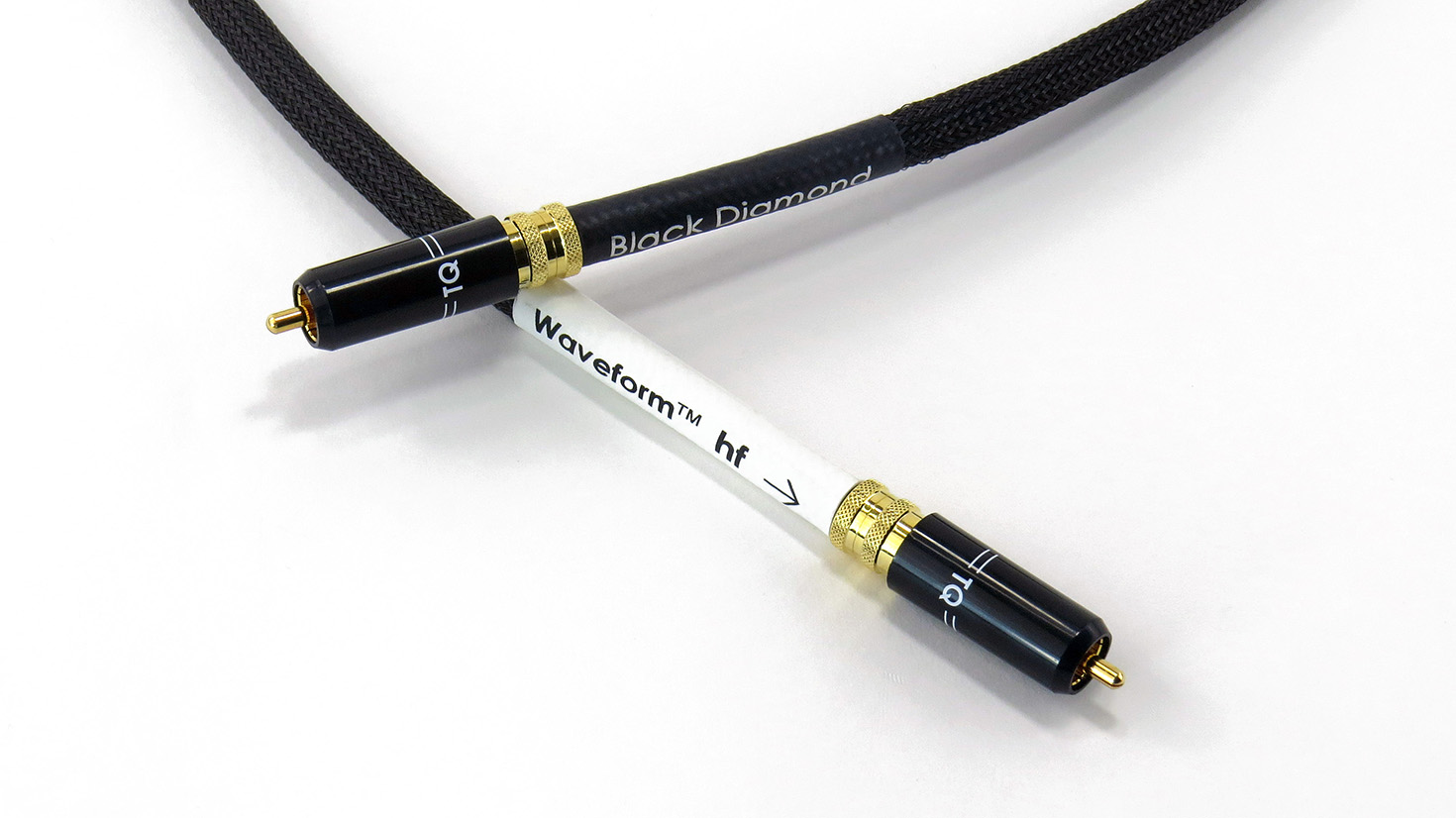 Black Diamond Waveform hf Digital RCA Cable
