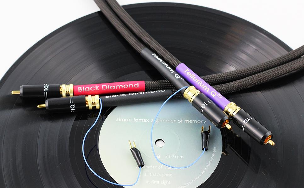 Black Diamond Tone Arm (RCA to RCA)