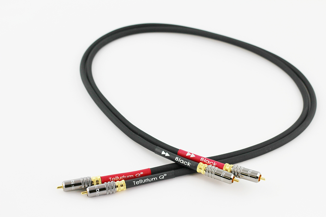 Black RCA Cable