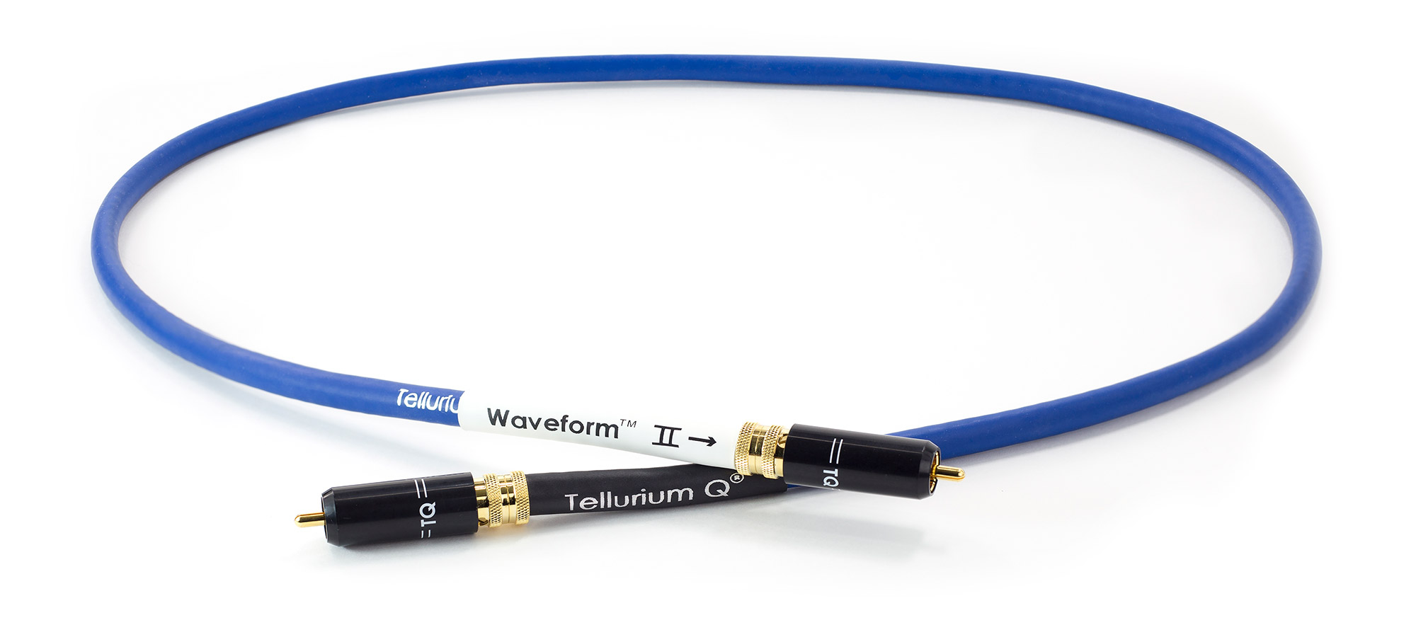 Blue Waveform hf Digital RCA Cable