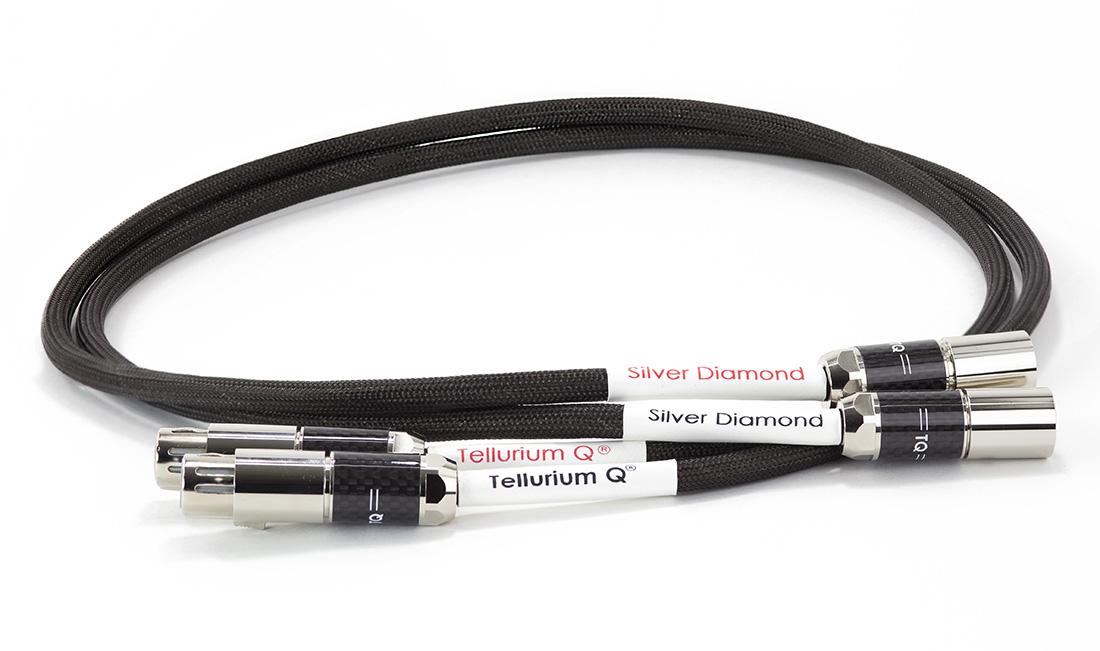 Silver Diamond XLR Cable