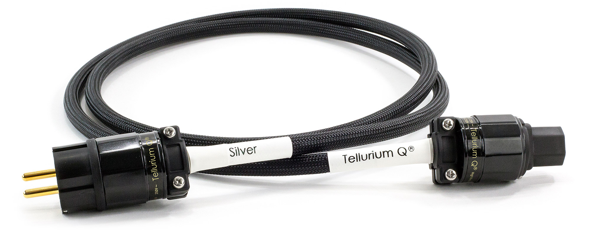 Silver Power Cable