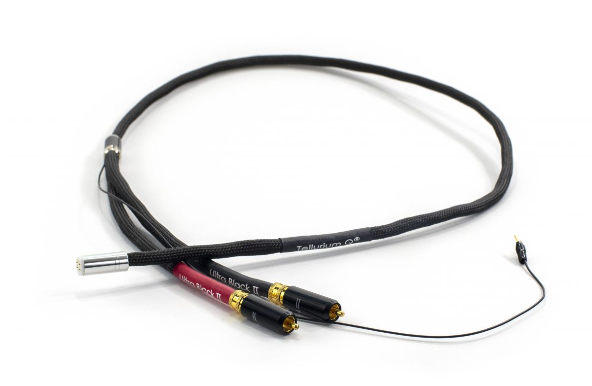Ultra Black II Tone Arm (RCA-DIN) Cable
