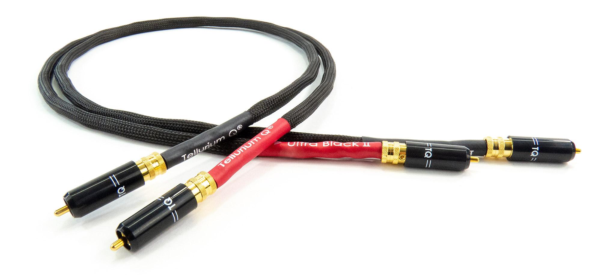 Ultra Black II RCA-Kabel