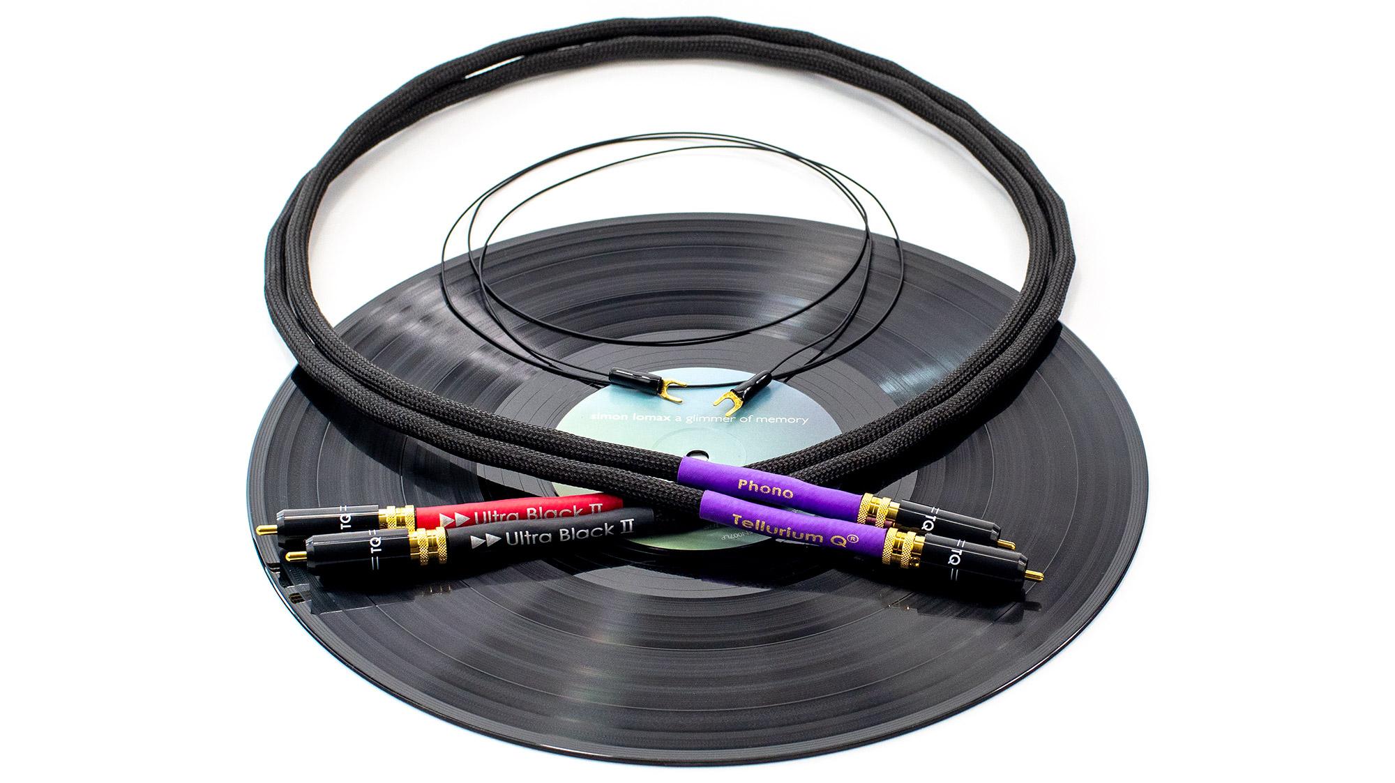 Ultra Black II トーンアームケーブル(RCA-RCA)