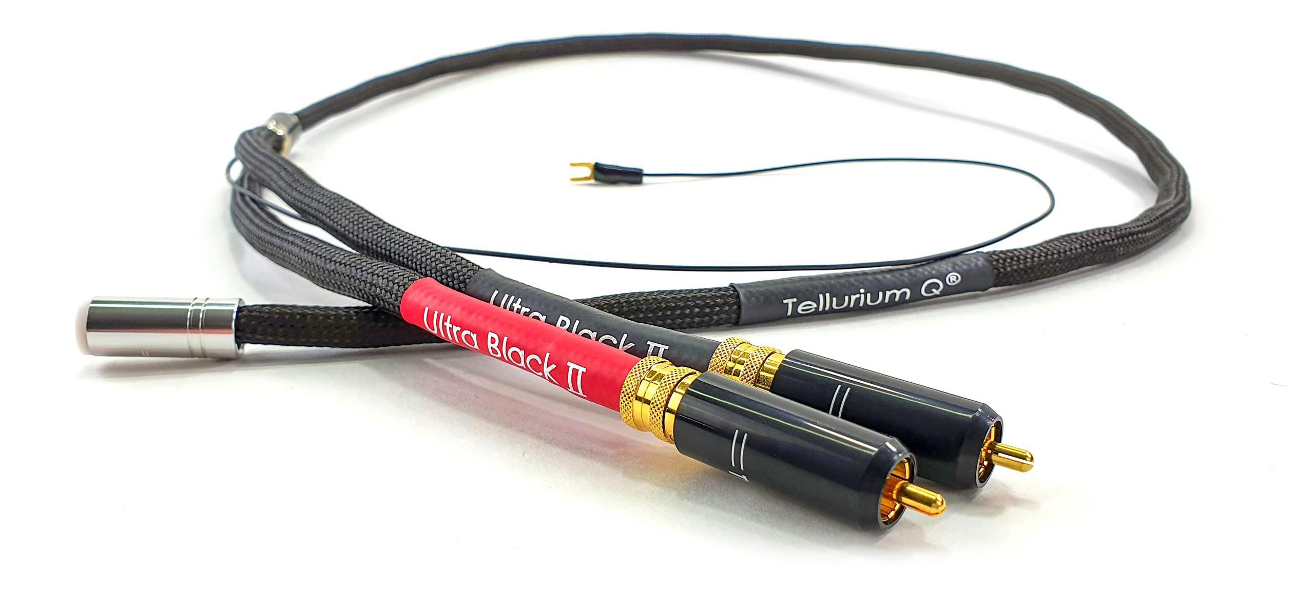 Ultra Black II DIN til RCA