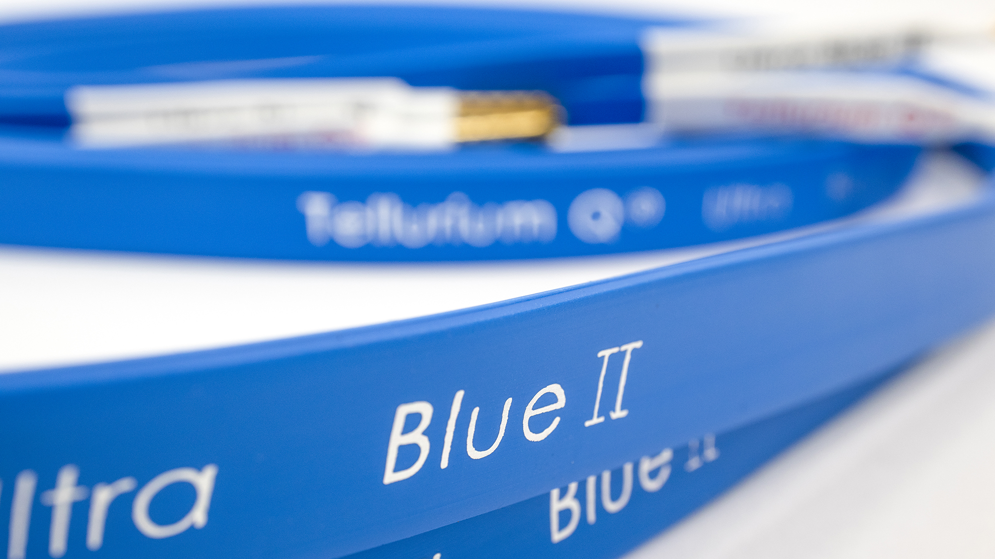 Ultra Blue IIスピーカーケーブル