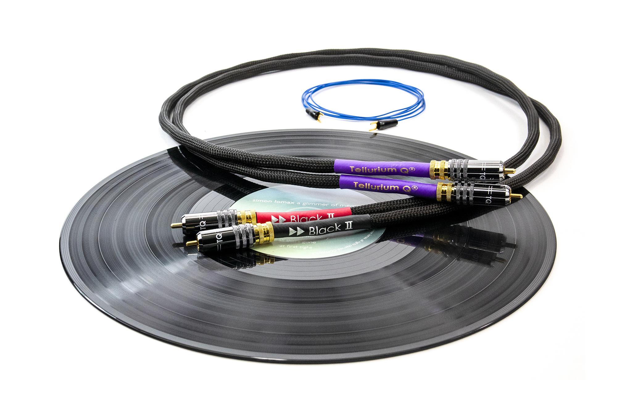 Black II Phono RCA 4
