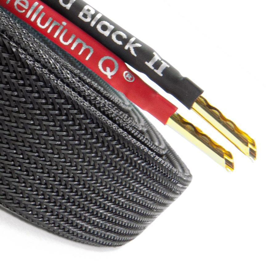 Ultra Black II Speaker Cable